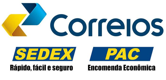 Postagem via Correios